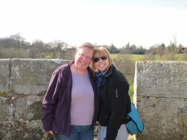 Hanging out at Bodiam Castle
