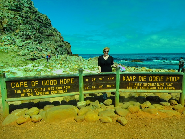 The Cape of Good Hope is often mistaken for the southern most point in Africa.